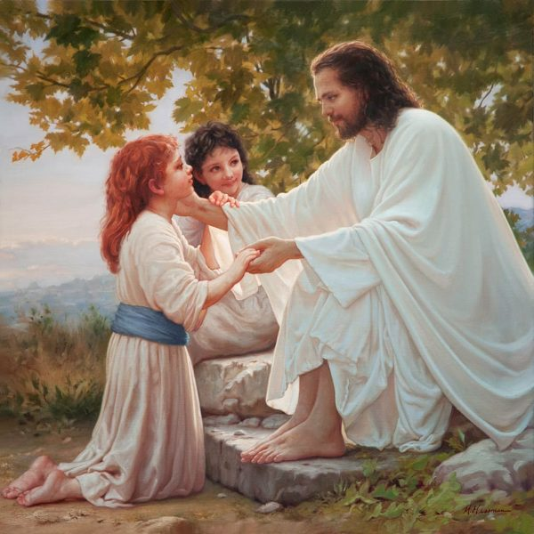The Pure Love Of Christ 36x36