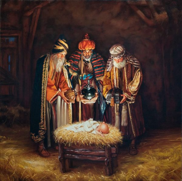 Wisemen Still Seek Him 36x36