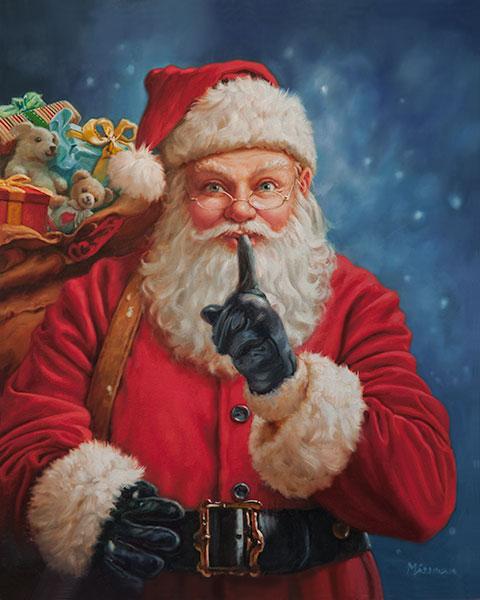 Secret Santa 20x24