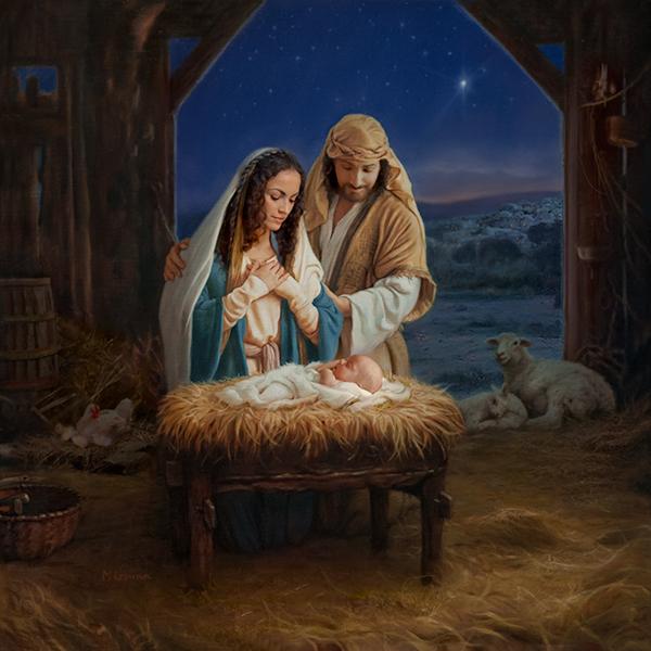 Holy Family 36x36