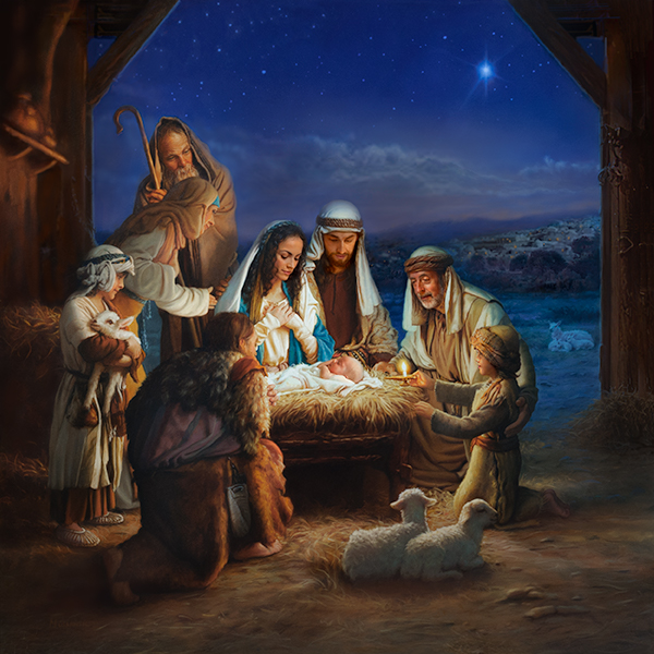 Holy Night 44x44