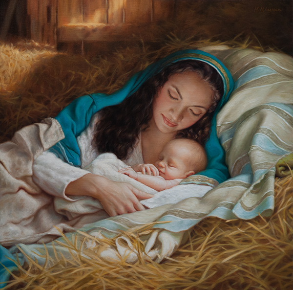 Mary's Child 26x26