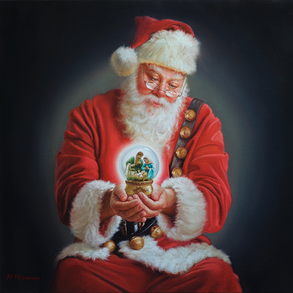 The Spirit of Christmas 30x30
